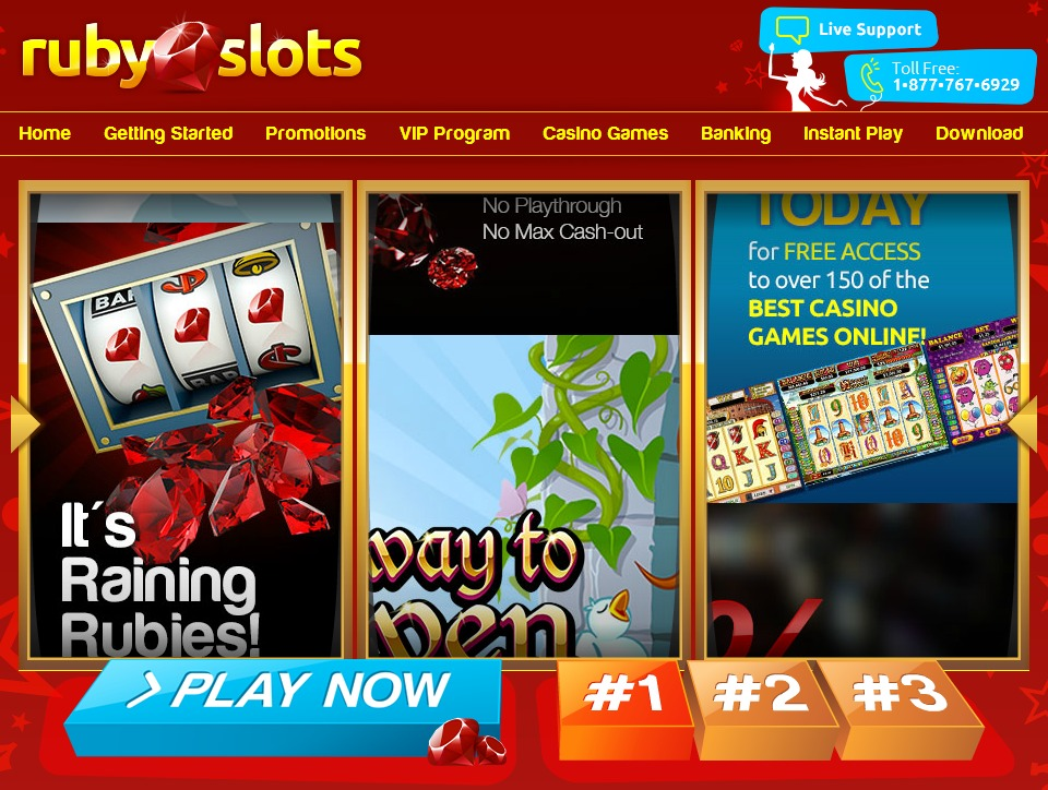 Ruby Casino Promotions